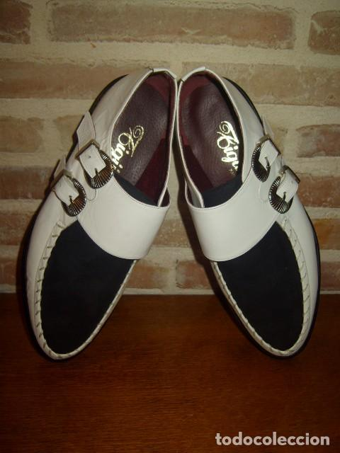 Vintage: ZAPATOS BUGGIES, TIGUES.ORIGINALES AÑOS 70-80.ROCKABILLY - Foto 13 - 156831666