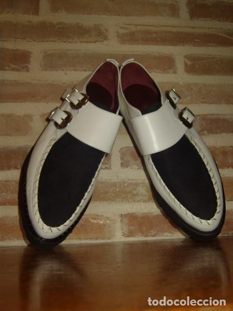 Vintage: ZAPATOS BUGGIES, TIGUES.ORIGINALES AÑOS 70-80.ROCKABILLY - Foto 14 - 156831666