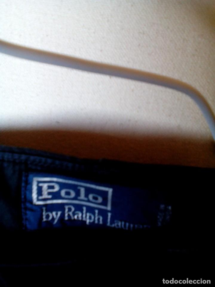 Vintage: Polo By Ralph Lauren,pantalon caballero,para una talla 42/44,color negro, mide 44x107cm de largo - Foto 3 - 158118030