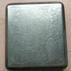 Vintage: PITILLERA METAL PLATEADO / CROMADO - SIGLO PASADO. Lote 158281758