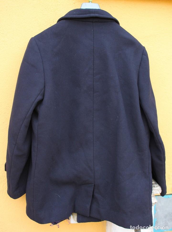 Vintage: Abrigo marinero de pura lana de Cortefiel, años 60 - Foto 2 - 158454330
