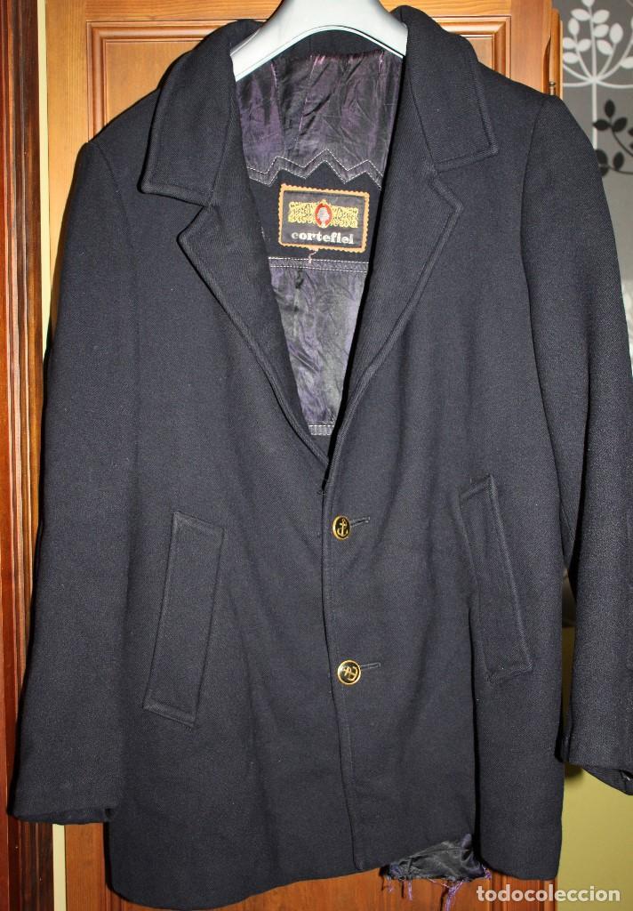 Vintage: Abrigo marinero de pura lana de Cortefiel, años 60 - Foto 3 - 158454330