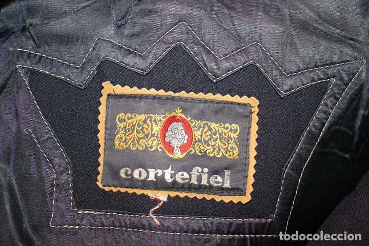 Vintage: Abrigo marinero de pura lana de Cortefiel, años 60 - Foto 4 - 158454330