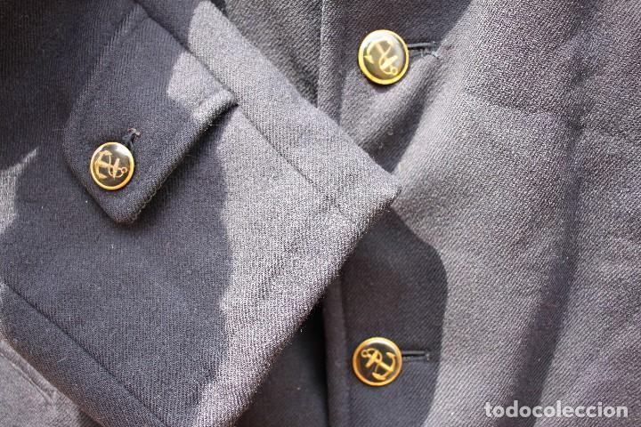 Vintage: Abrigo marinero de pura lana de Cortefiel, años 60 - Foto 5 - 158454330
