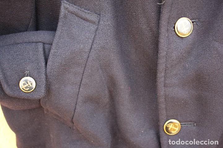 Vintage: Abrigo marinero de pura lana de Cortefiel, años 60 - Foto 6 - 158454330