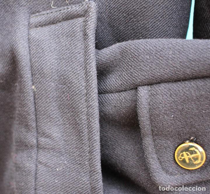 Vintage: Abrigo marinero de pura lana de Cortefiel, años 60 - Foto 13 - 158454330