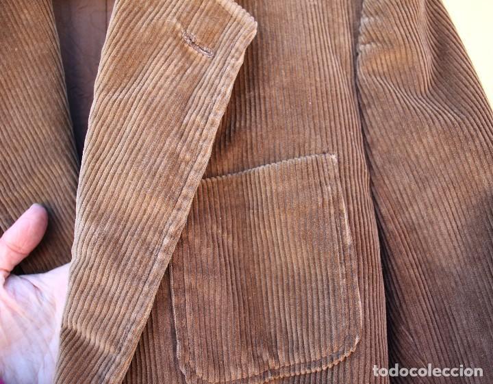 Vintage: Chaqueta de pana clásica, años 70 - Foto 3 - 158617434