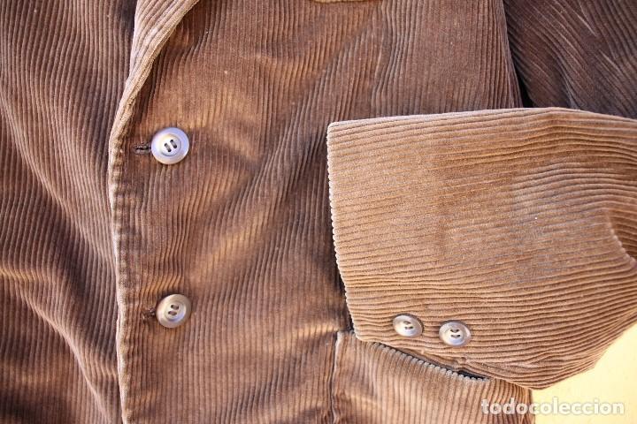 Vintage: Chaqueta de pana clásica, años 70 - Foto 4 - 158617434