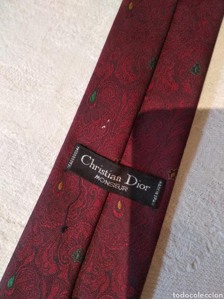 CORBATA CHRISTIAN DIOR. PURA SEDA (Vintage - Moda - Hombre)