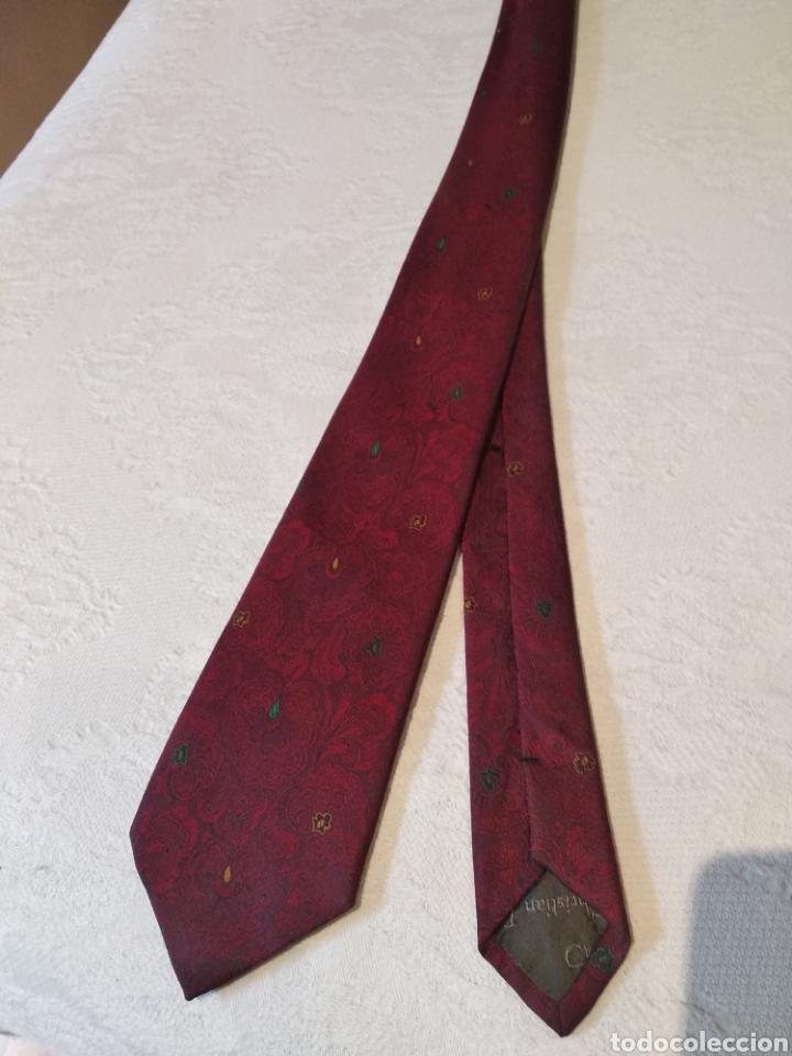 Vintage: Corbata Christian dior. Pura seda - Foto 4 - 158689666