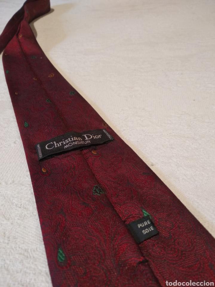 Vintage: Corbata Christian dior. Pura seda - Foto 5 - 158689666