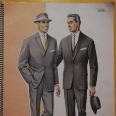 Vintage: MEN'S TAILOR - ASTRA - SUMMER 1962. MODA MASCULINA. ALEMÁN, FRANCÉS INGLÉS. Lote 158919670