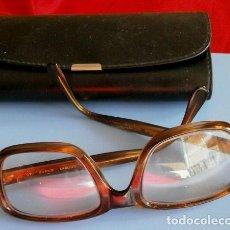 Vintage: ANTIGUAS GAFAS VINTAGE MARCA INDO FRAME (AÑOS 70) LENTES GRADUADAS FOTOCROMÁTICAS - SE OSCURECEN. Lote 158959698