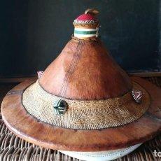 Vintage: SOMBRERO AFRICANO . Lote 159278178
