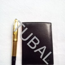 Vintage: TUBAL ESTRENAR UBRIQUE PIEL CARTERA BILLETERO MONEDERO BILLETERA. Lote 159548070