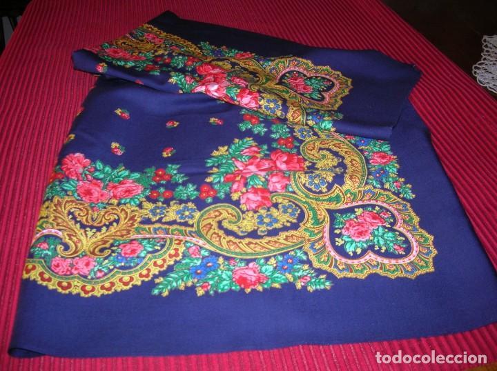 Vintage: Muy colorido pañuelo grande.Puede ser para traje regional - Foto 2 - 159548230