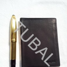 Vintage: TUBAL ESTRENAR UBRIQUE PIEL CARTERA BILLETERO MONEDERO BILLETERA. Lote 159548330