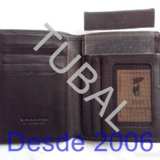 Vintage: TUBAL ESTRENAR UBRIQUE PIEL CARTERA BILLETERO MONEDERO BILLETERA. Lote 159548678