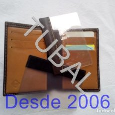Vintage: TUBAL ESTRENAR UBRIQUE PIEL CARTERA BILLETERO MONEDERO BILLETERA. Lote 159551426