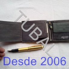 Vintage: TUBAL ESTRENAR UBRIQUE PIEL CARTERA BILLETERO MONEDERO BILLETERA. Lote 159551614