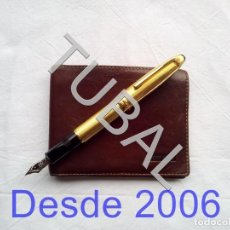 Vintage: TUBAL ESTRENAR UBRIQUE PIEL CARTERA BILLETERO MONEDERO BILLETERA. Lote 159559542
