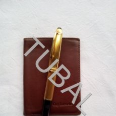 Vintage: TUBAL ESTRENAR UBRIQUE PIEL CARTERA BILLETERO MONEDERO BILLETERA. Lote 159559722