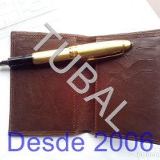 Vintage: TUBAL ESTRENAR UBRIQUE PIEL CARTERA BILLETERO MONEDERO BILLETERA. Lote 159559866