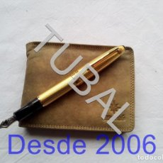 Vintage: TUBAL ESTRENAR UBRIQUE PIEL CARTERA BILLETERO MONEDERO BILLETERA. Lote 159560546