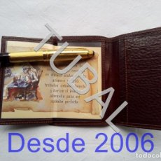 Vintage: TUBAL ESTRENAR UBRIQUE PIEL CARTERA BILLETERO MONEDERO BILLETERA. Lote 159560822