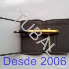 Vintage: TUBAL ESTRENAR UBRIQUE PIEL CARTERA BILLETERO MONEDERO BILLETERA. Lote 159561798