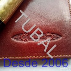 Vintage: TUBAL ESTRENAR UBRIQUE PIEL CARTERA BILLETERO MONEDERO BILLETERA. Lote 159562702