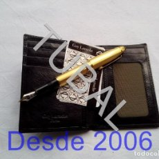 Vintage: TUBAL ESTRENAR UBRIQUE PIEL CARTERA BILLETERO MONEDERO BILLETERA. Lote 159563698