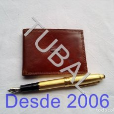 Vintage: TUBAL ESTRENAR UBRIQUE PIEL CARTERA BILLETERO MONEDERO BILLETERA. Lote 159565882