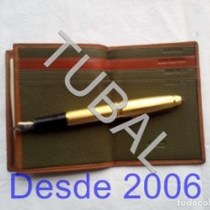 Vintage: TUBAL ESTRENAR UBRIQUE PIEL CARTERA BILLETERO MONEDERO BILLETERA. Lote 159566338