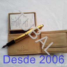 Vintage: TUBAL ESTRENAR UBRIQUE PIEL CARTERA BILLETERO MONEDERO BILLETERA. Lote 159567050