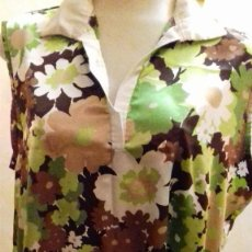 Vintage: RA. AN VITO ,BLUSA MUJER MIDE 55X65CM. Lote 159705826