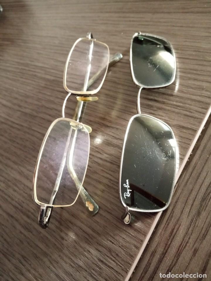 Vintage: Gafas Ray-ban hombre vintage + soporte de gafas de sol (graduadas) - Italy - Foto 2 - 159821190