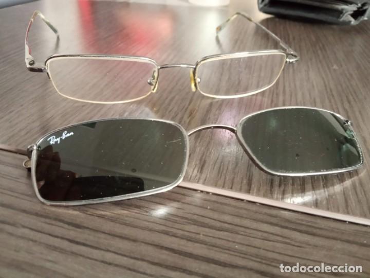 Vintage: Gafas Ray-ban hombre vintage + soporte de gafas de sol (graduadas) - Italy - Foto 9 - 159821190