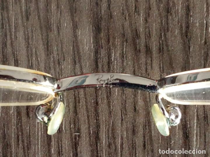 Vintage: Gafas Ray-ban hombre vintage + soporte de gafas de sol (graduadas) - Italy - Foto 11 - 159821190