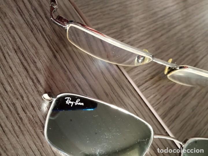 Vintage: Gafas Ray-ban hombre vintage + soporte de gafas de sol (graduadas) - Italy - Foto 14 - 159821190