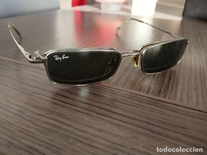 Vintage: Gafas Ray-ban hombre vintage + soporte de gafas de sol (graduadas) - Italy - Foto 15 - 159821190