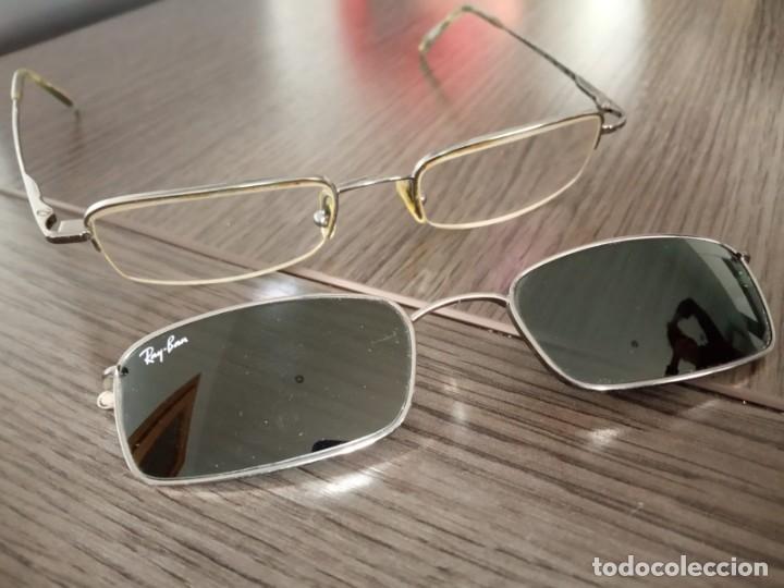 Vintage: Gafas Ray-ban hombre vintage + soporte de gafas de sol (graduadas) - Italy - Foto 16 - 159821190
