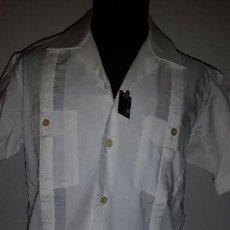 Vintage: CAMISA GUAYABERA MANGA CORTA DE LOS 60-70. Lote 159985490