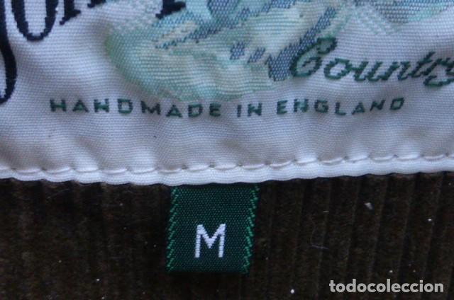 Vintage: Chaqueton -Gabardina Barbour.Garment.talla M..Hecho a mano. Inglaterra.John Bartridge. FOTOS..LEER. - Foto 3 - 160396602