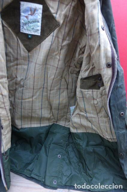 Vintage: Chaqueton -Gabardina Barbour.Garment.talla M..Hecho a mano. Inglaterra.John Bartridge. FOTOS..LEER. - Foto 5 - 160396602
