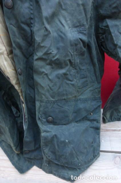 Vintage: Chaqueton -Gabardina Barbour.Garment.talla M..Hecho a mano. Inglaterra.John Bartridge. FOTOS..LEER. - Foto 7 - 160396602