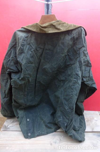 Vintage: Chaqueton -Gabardina Barbour.Garment.talla M..Hecho a mano. Inglaterra.John Bartridge. FOTOS..LEER. - Foto 8 - 160396602