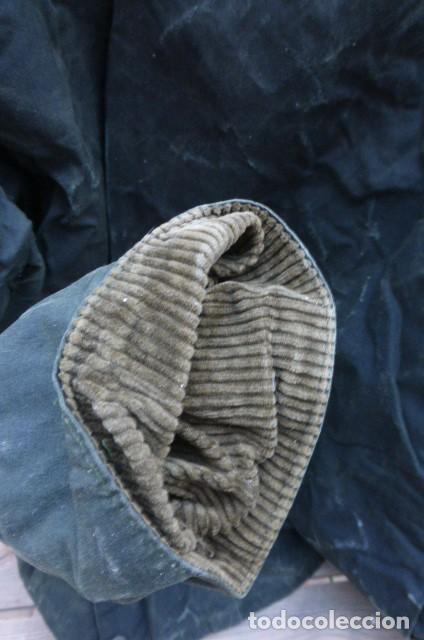 Vintage: Chaqueton -Gabardina Barbour.Garment.talla M..Hecho a mano. Inglaterra.John Bartridge. FOTOS..LEER. - Foto 10 - 160396602