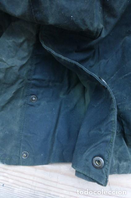 Vintage: Chaqueton -Gabardina Barbour.Garment.talla M..Hecho a mano. Inglaterra.John Bartridge. FOTOS..LEER. - Foto 11 - 160396602