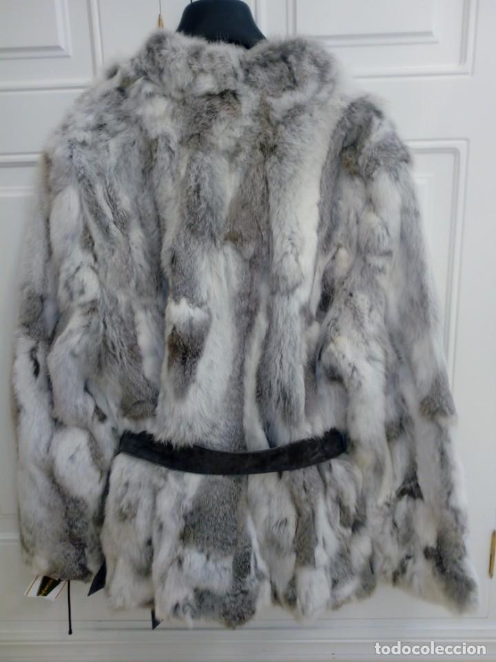 Vintage: Abrigo de piel de conejo sin estrenar - Foto 2 - 160612226
